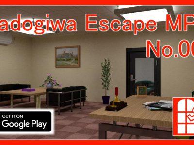 脱出ゲーム「Madogiwa Escape MP No.006」(Android版)を新規リリースしました。