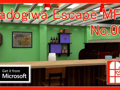 We released new game for Windows10(Microsoft Store app) – Madogiwa Escape MP No.007 (Room Escape Game).