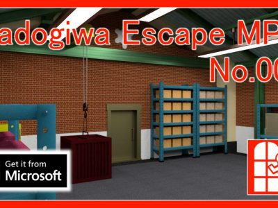 We released new game for Windows10(Microsoft Store app) – Madogiwa Escape MP No.008 (Room Escape Game).