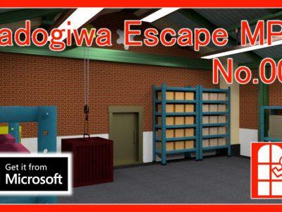 脱出ゲーム「Madogiwa Escape MP No.008」(Windows10 – Microsoftストアアプリ版)を公開しました。