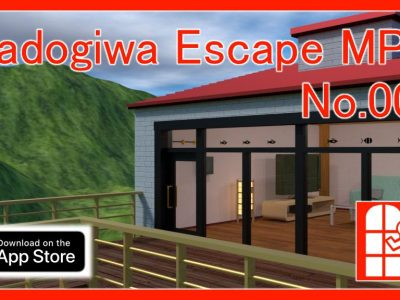 We released new game for iPhone/iPad – Madogiwa Escape MP No.002 (Room Escape Game).