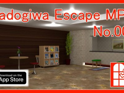 We released new game for iPhone/iPad – Madogiwa Escape MP No.001 (Room Escape Game).