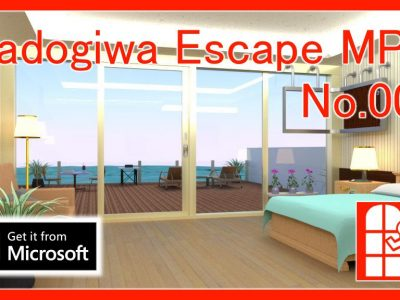 We released new game for Windows10(Microsoft Store app) – Madogiwa Escape MP No.009 (Room Escape Game).
