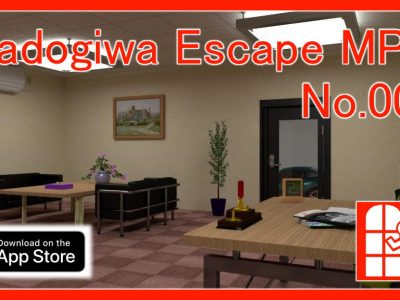 We released new game for iPhone/iPad – Madogiwa Escape MP No.006 (Room Escape Game).