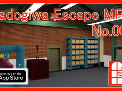 We released new game for iPhone/iPad – Madogiwa Escape MP No.008 (Room Escape Game).