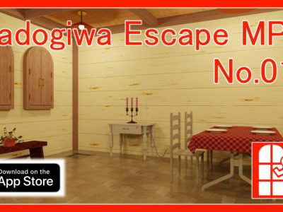 We released new game for iPhone/iPad – Madogiwa Escape MP No.010 (Room Escape Game).