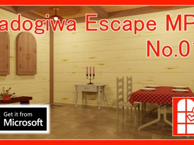 We released new escape game package app for Windows – Portal of Madogiwa Escape MP.