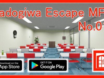 脱出ゲーム「Madogiwa Escape MP No.011」(iOS/Android版)を公開しました。